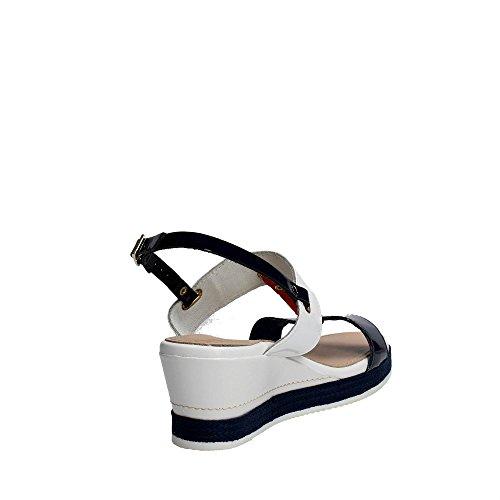 Cinzia Soft IAS32414 Sandalo Donna Bianco/Rosso