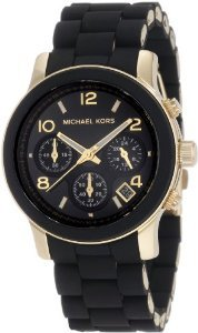 Montre quartz mixte Michael Kors Black Catwalk MK5191