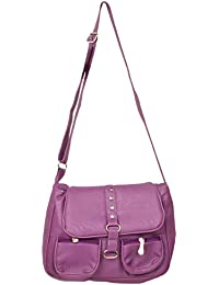 Sling Bag For Girls And Womens By Trendz (Purple, 104)
