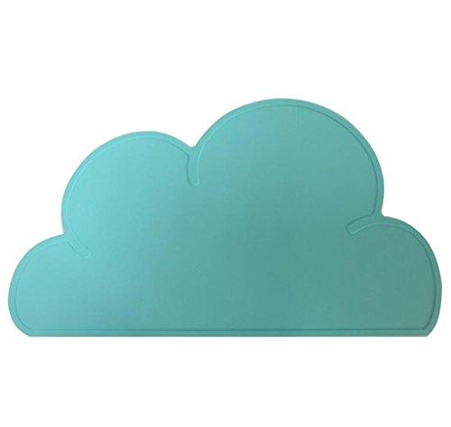 Kuke multiusos silicona nubes diseño agarraderas, resistente al agua cuenco almohadillas, antiadherente...