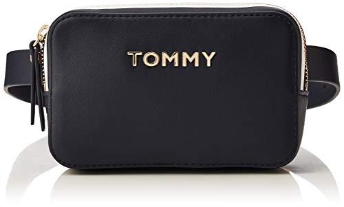 Tommy Hilfiger Mädchen Th Corporate Bumbag Geldbörse, Blau (Tommy Navy), 1x1x1 cm