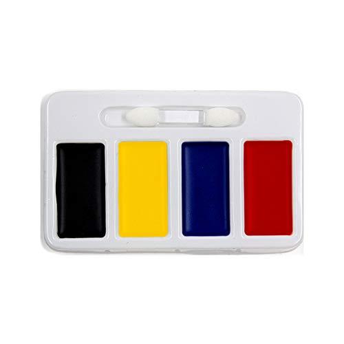1 Set Halloween Body Paint Oil Waschbare 4 Farben Face Art Kit Safe Kids Facepainting Set Make Up Palette Art Office Supplies