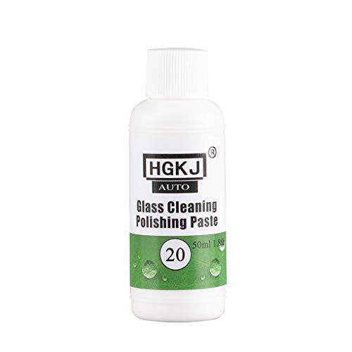 CHshe®-Autoglas-Reinigungsflüssigkeit,HGKJ-20-Glasentfetter Reiniger Glasreinigung Polierpaste Ölfilm Reinigen