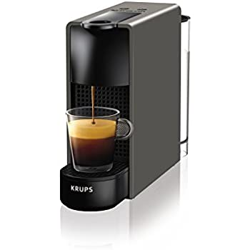 Krups Essenza Mini - Nespresso (1200 W), color negro Essenza, Mini ...