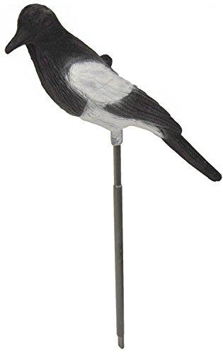 Nitehawk floqu/é appelant pour la chasse//le tir Lot de 4 corbeaux entiers avec pattes sur b/âton