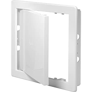 Access Panel 300x300mm (12x12inch) White High Quality ABS Plastic