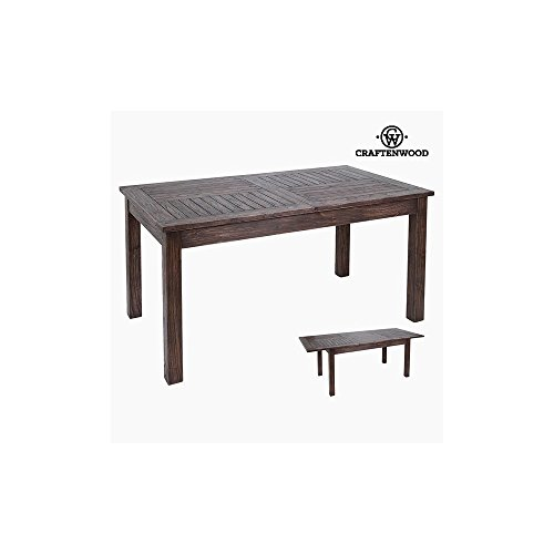 Mesa Extensible Madera de mindi (160 x 90 x 79 cm) by Craftenwood