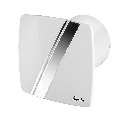 Badlüfter Wand-Ventilator Ø 100 mit Nachlauf , Kugellager Silent Linea - Line System+ - Badezimmer-ventilator-lichtschalter