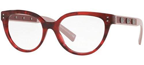 Valentino Brillen FREE ROCK STUD VA 3034 RED HAVANA gebraucht kaufen  Wird an jeden Ort in Deutschland