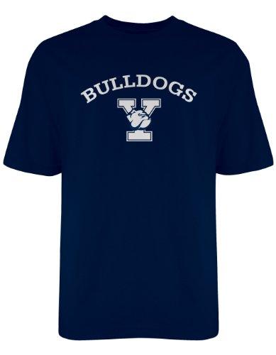 Old Varsity NCAA Offizielles Gildan T-Shirt, Herren, Navy, XX-Large - Bulldogge T-shirt Tee
