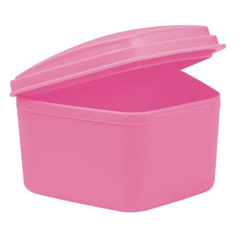 wellsamed Zahnspangendose Spangendose Prothesendose maxi pink 1 Stück