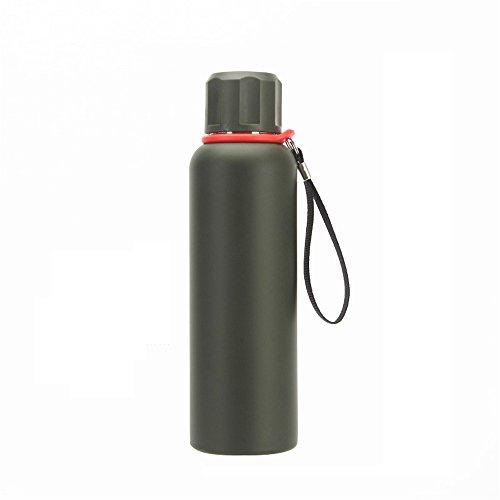 Feetbilbli Edelstahl Großkapazität-Isolierung Wasserkocher Doppelschichtige Isolierung Vakuum-Isolierung Haltbarkeit Schutz Geeignet für Outdoor, Outdoor, Camping Elite Produkt (Elite Wasserkocher)