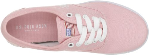 US Polo Assn ,  Sneaker donna Rosa (Rose (Pink))