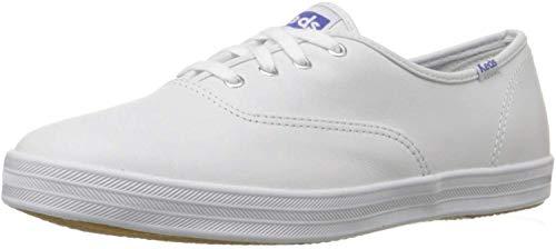 Keds Damen Champion CVO Niedrige Sportschuhe, Bianco (White Leather), 7.5 UK 2E