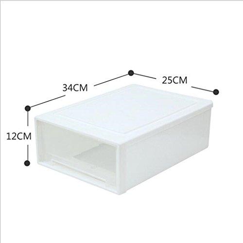 Sucastle,Wirklich nützliche Aufbewahrungsboxen sind leicht und robust und stapelbar,Plastik,12*34*25cm