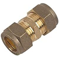 Dritto giunto raccordo a compressione, 22mm (confezione da