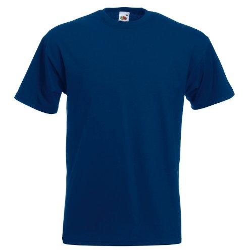 Fruit of the Loom Super Premium T-Shirt Navy M M,Navy