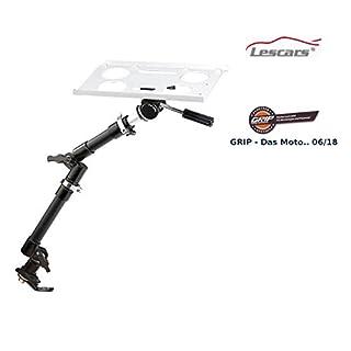 Lescars Laptop Halterung: Universal-Notebook-Kfz-Halterung mit Kamerastativ (Kfz Laptop Halterung)