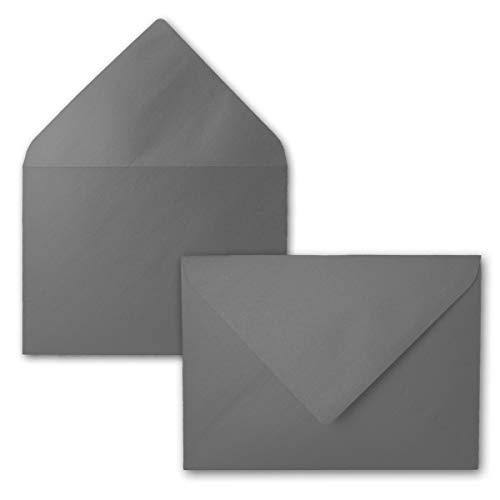27 Mini-anhänger (25 Mini Brief-Umschläge - Silber Metallic - 5,2 x 7,6 cm - Miniatur Kuverts mit Nassklebung für Blumen-Grüße, Grußkarten, Anhänger & Geld-Geschenke - FarbenFroh by GUSTAV NEUSER)