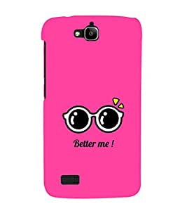 Fuson Premium Printed Hard Plastic Back Case Cover for Huawei Honor Holly