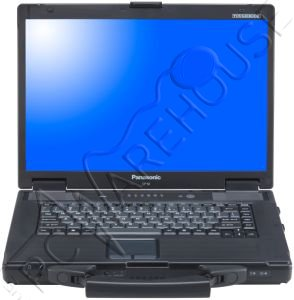 Panasonic Toughbook CF-52 4GB RAM 250GB HDD Windows 7 semi-Rugged Laptop with 15.4