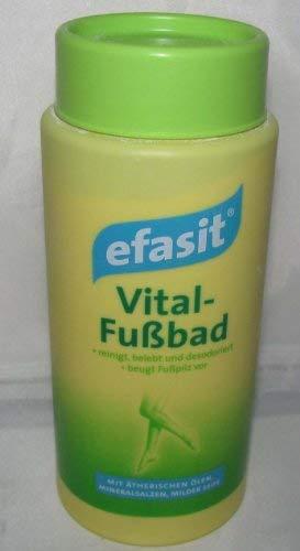Efasit Vital Fussbad - 400g - Beugt Fußpilz vor - Mit Ätherischen Ölen