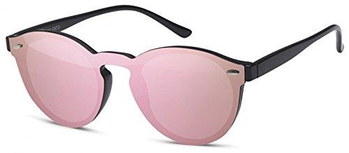 54e17de681 styleBREAKER gafas de sol con un solo cristal con lentes planas y ...