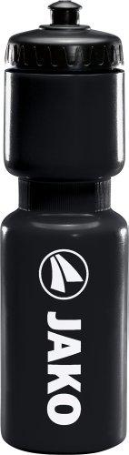 JAKO Trinkflasche, Schwarz, 750 ml