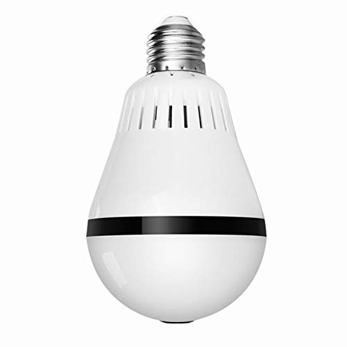 Yunding fotocamera, lampadina led intelligente/visione notturna hd/ripresa panoramica/visione remota, monitor domestico