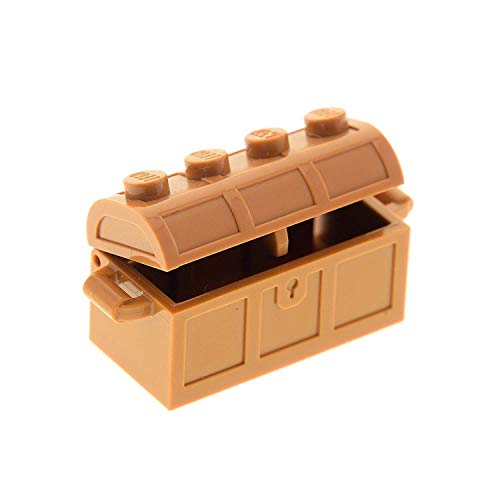 Bausteine gebraucht 1 x Lego Schatztruhen Truhe Hell Braun Medium Dark Flesh Schatzkiste Treasure Chest Set Friends Minecraft 71040 41185 21124 21118 4738ac01