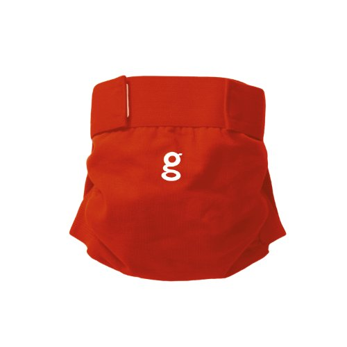 gNappies Little gPants Stoffwindel rot Größe L (10-16 kg)