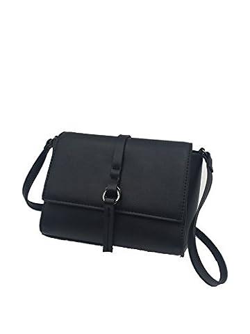 FiveMax Vintage Women Handbag Shoulder Bag Clutch Cross-body Purse Leather Lady Bag