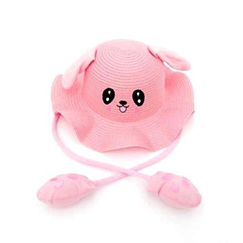 n-Ohr-Hut-Plüsch-beweglicher Kaninchen-Ohr-Hut-Tanzen-Häschen-Ohren-Sommer-Strand-Sonnenschutz-Hut-Ohr kann Halloween-Hut-Osterhasen-nettes Plüschtier-Spielzeug auf und ab bewegen ()