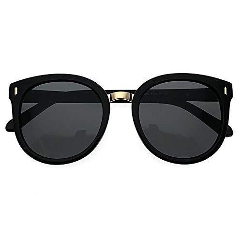 fuqiuwei Sonnenbrillen Sonnenbrille, Weibliche Sonnenbrille, Großes Gesicht, Dünne Anti-Uv-Brille