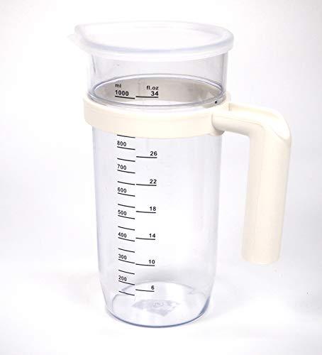 Vaso batidora 15029 1L, Plástico, TRANSPARENTE