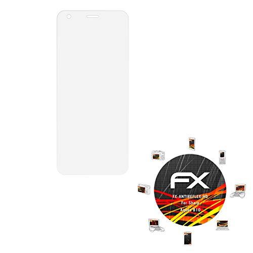 atFolix Schutzfolie kompatibel mit Sharp Aquos B10 Bildschirmschutzfolie, HD-Entspiegelung FX Folie (3X)