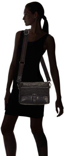 Sansibar  Zonda, sacs bandoulière femme Noir - Noir