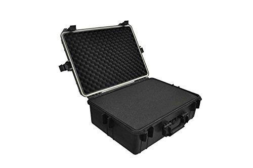 vidaXL Fotokoffer transportkoffer waffenkoffer Universalkoffer Kunststoff 35L Kapazität Medium Camcorder Case