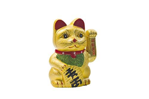 T.H.S. Tian Hu Shan NF 18636 winkende Katze 17.5 cm