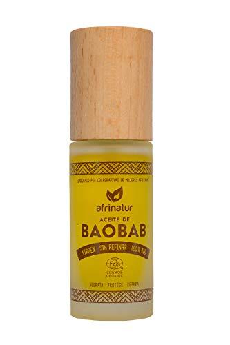 Aceite baobab Afrinatur · puro · sin refinar ·