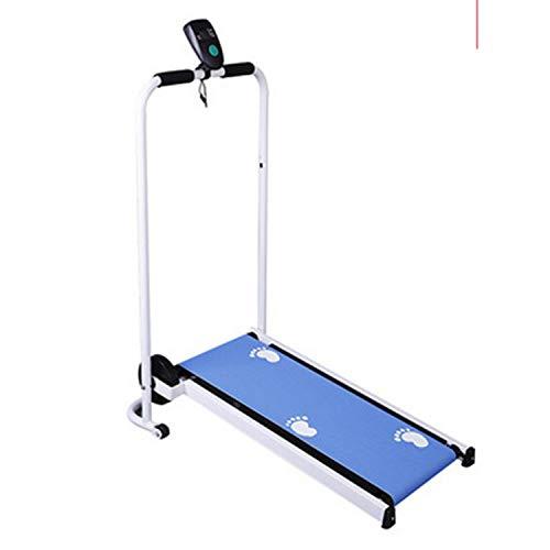 WSXX Mini-mechanisches Laufband, Stille Faltung, Laufmaschine, Fitnessgeräte Für Zuhause, Übungs-Stepper