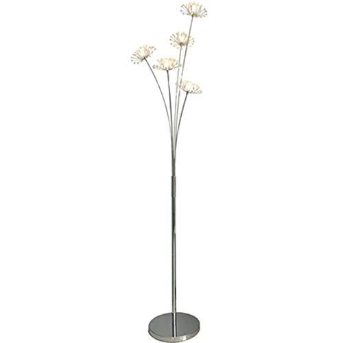 QPSGB Stehleuchte - Stehlampe aus Löwenzahnkristall IKEA Creative Living Bedroom Schlafzimmer-Nachttischlampe -4268 Stehlampe (größe : 5 Köpfe) -