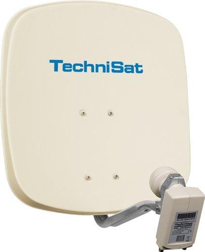 TechniSat DIGIDISH 45 Sat-Anlage (mit Wandhalterung und Universal-Twin-LNB)