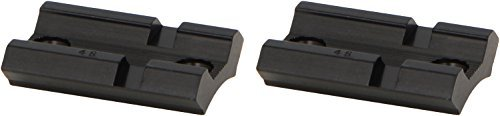 Weaver Top Mount Matte Black Base Pair - Savage 110 with Accu Trigger by Weaver - Savage Black Matte