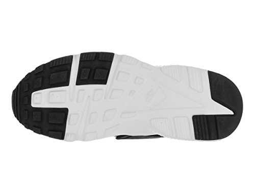 Nike Huarache Run (GS), Chaussures de Running Entrainement Garçon, Noir Multicolore (Black/white)