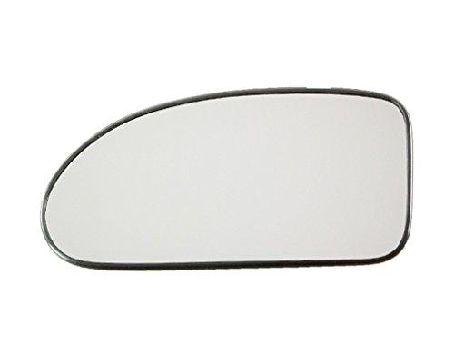 Spiegelglas Links Konvex Chrom