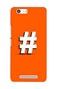 ROBMOB High Quality Printed Designer Back Cover Compatible for Gionee M5 Lite