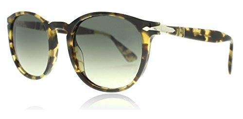 Persol PO3157S 105671 Braun Beige und Tortoise PO3157S Round Sunglasses Lens Category 3 Size 52mm