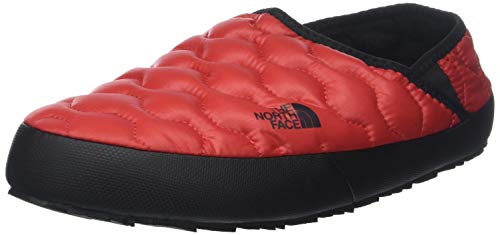 THE NORTH FACE Herren Thermoball Traction Iv Pantoletten, Rot (Shiny Red/TNF Black 5qy), 43 EU