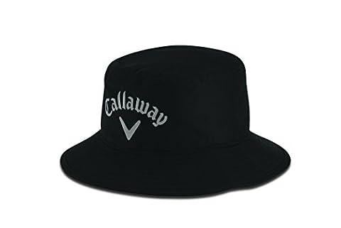 Callaway Aqua Dry Bucket, S/M, Hut, schwarz, Herren
